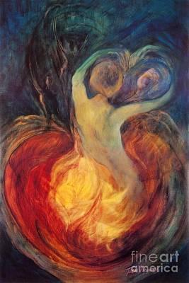 Painting - Sacred Dance by Teresa Dunwell