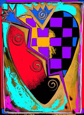 Christina Miller Painting - Sacred Heart by Christina Miller