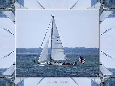 Photograph - Sailboat At Erie Basin Marina by Rose Santuci-Sofranko