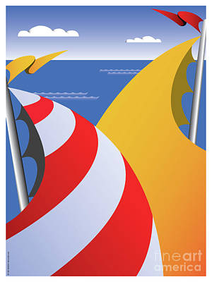 Sails Art Print by Joe Barsin
