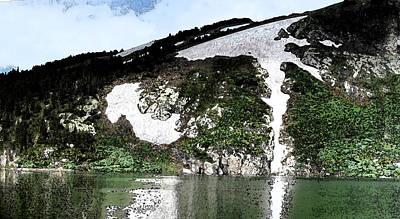 Wall Art - Digital Art - Saint Mary's Glacier by Bill Kennedy