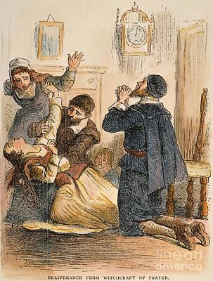 Discrimination Photograph - Salem Witchcraft, 1692 by Granger