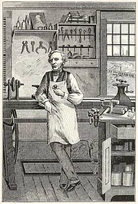 Samuel F. B. Morse 1791-1872, Inventor Art Print by Everett