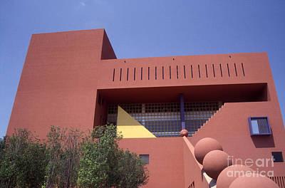 Photograph - San Antonio Library Texas by John  Mitchell