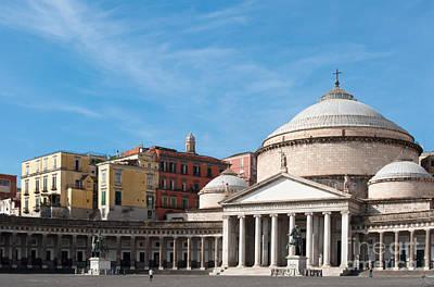 Basilica Di San Francesco Photograph - San Francesco Di Paola by Andrew  Michael