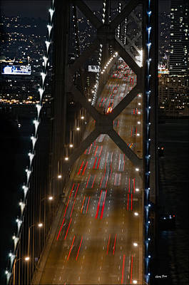 Photograph - San Francisco Bay Bridge by Gary Rose