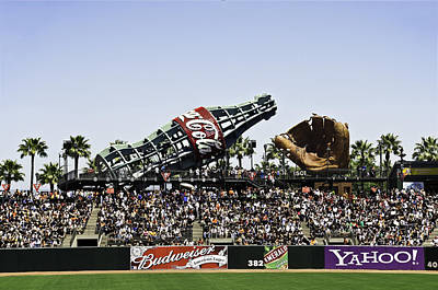 San Francisco Giants Baseball Park Art Print
