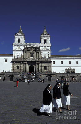 Photograph - San Francisco Monastery Quito Ecuador by John  Mitchell