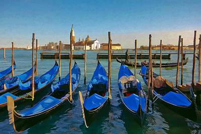 Venedig Photograph - San Giorgio Maggiore by Andy Bitterer