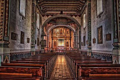 San Luis Rey Photograph - San Luis Rey by Stephen Campbell