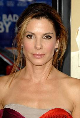 Sandra Bullock At Arrivals For All Art Print