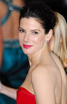 Sandra Bullock At Arrivals For The 83rd Print by Everett