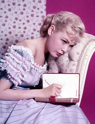 1950s Fashion Photograph - Sandra Dee, C. 1959 by Everett