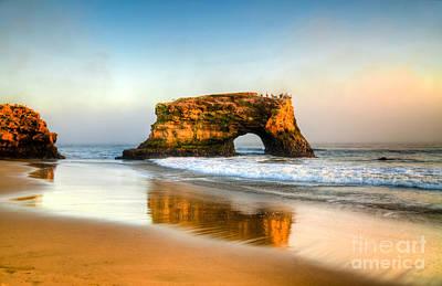 Natural Bridges State Beach Photograph - Santa Cruz by Kelly Wade