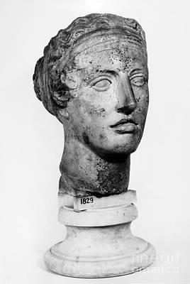 Sappho (fl. C600 B.c.) Art Print