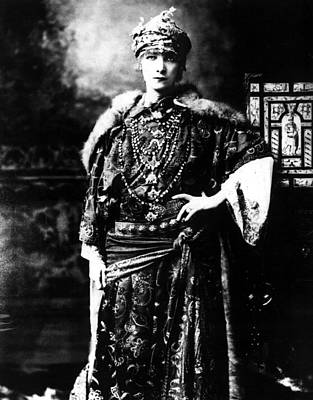 Sarah Bernhardt 1844-1923, Undated Print by Everett