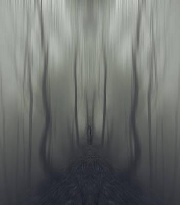 Spooky Digital Art - Sarah by James Ingham