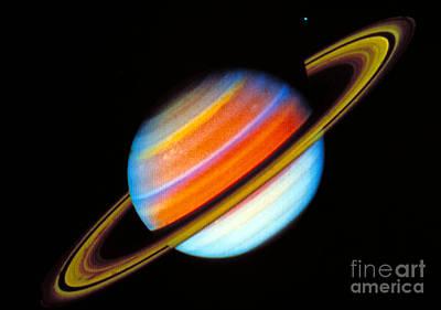 Saturn Art Print by Nasa