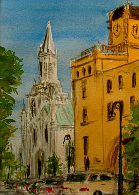 Savannah Noon Art Print by Pete Maier