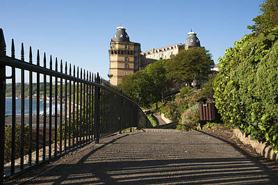 Metal Fence Photograph - Scarborough by Svetlana Sewell