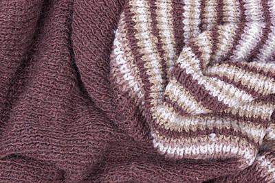 Scarf From Wool Manual Are Viscous Art Print by Aleksandr Volkov