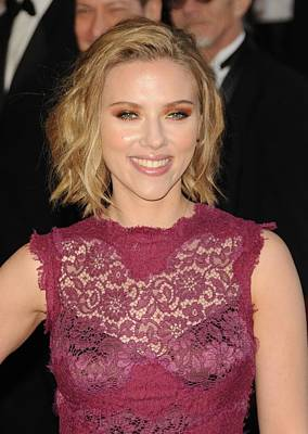The 83rd Academy Awards Oscars - Arrivals Part 1 Photograph - Scarlett Johansson At Arrivals For The by Everett