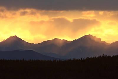 Scenic Northern Rockies Of British Columbia Art Print by Mark Duffy