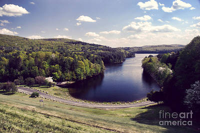 Scenic Of Barkhamsted Reservoir Art Print by HD Connelly