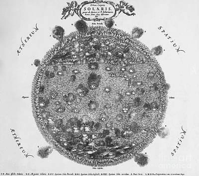 Historic Schooner Photograph - Schema Corporis Solaris, Mundus by Science Source