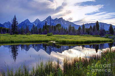 Owens River Photograph - Schwabacher Landing - Grand Teton National Park by Gary Whitton