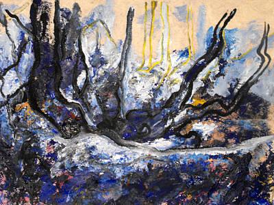 Painting - Schwarzer Wald by Koro Arandia
