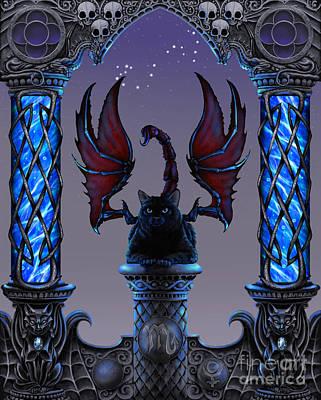 Zodiac Digital Art - Scorpio by Stanley Morrison