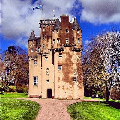 Travel Photograph - Scottish Castle by Luisa Azzolini