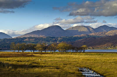 Photograph - Scottish Landscape View by Gary Eason