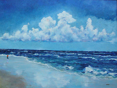 Painting - Sea And Sky by Robert Henne
