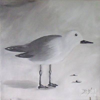 Painting - Seagull by Debra Piro