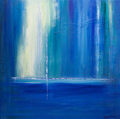 Painting - Searching For The Light 2 by Dolores  Deal