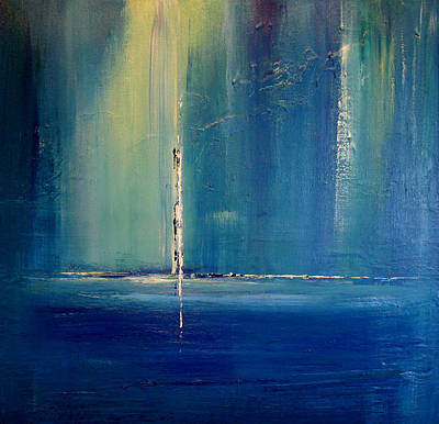 Painting - Searching For The Light  by Dolores  Deal