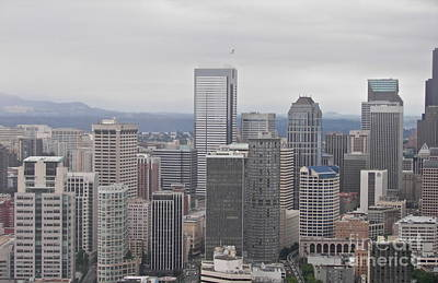 Photograph - Seattle Skyline by Carol  Bradley