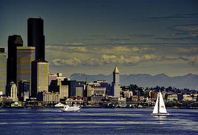 Photograph - Seattle Summer by Dale Stillman