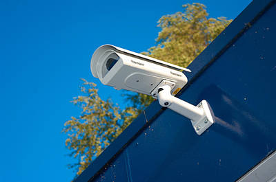 Security Camera Art Print by Hans Engbers