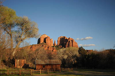 Sedona 014 Art Print by Earl Bowser