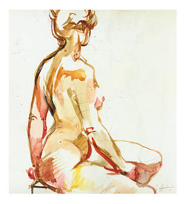 Seraphina Art Print by Gerard Bimson
