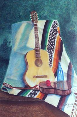 Serenata Mexicana Art Print by Fernando A Hernandez