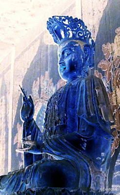 Buddha Photograph - Serenity by Carmen Cordova