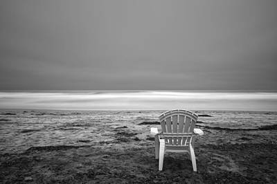 Benches Photograph - Serenity by Larry Marshall