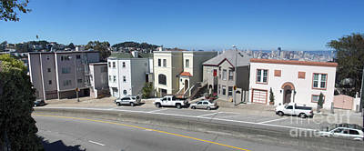 Photograph - Sf Street Scene by Ron Bissett