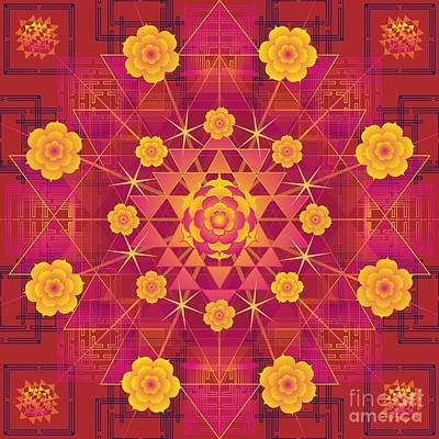 Digital Art - Shanti 2012 by Kathryn Strick