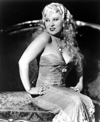 She Done Him Wrong, Mae West, 1933 Art Print
