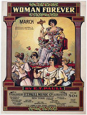 Sheet Music Cover, 1916 Art Print by Granger